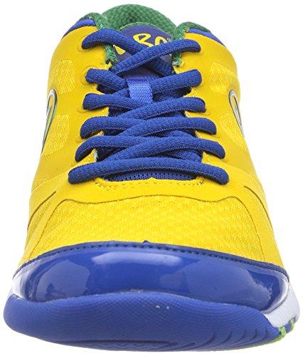 Zumba Footwear - Zumbaimpact Max, Scarpe fitness Donna Gelb (Yellow/Nautical Blue)