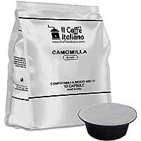 FRHOME - 80 Capsule alla Camomilla - Compatibili con Macchine da caffè Lavazza a Modo Mio – Il Caffè Italiano