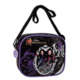 Descendants Live Evil Shoulder Messenger Bag, 18 cm, 1.35 Liters, Purple