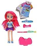 Piny Fashion Doll PINY - Muñeca Michelle con libro de diseño (Famosa...