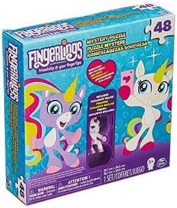 Spin Master Fingerlings Unicorn Bling Puzzle 48 pcs Puzzle - Rompecabezas (Puzzle Rompecabezas, Animales, Niños, Unicornio, Chica, 6 año(s))