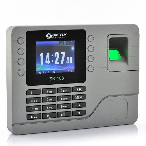 Sistema de control acceso por huella digital, biometrico, dactilar   Pantalla en color 2,8 pulgadas, capacidad 80.000 registros