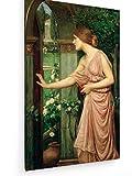John William Waterhouse - Psyche - Malerei - 50x80 cm - Textil-Leinwandbild auf Keilrahmen - Wand-Bild - Kunst, Gemälde, Foto, Bild auf Leinwand - Alte Meister/Museum