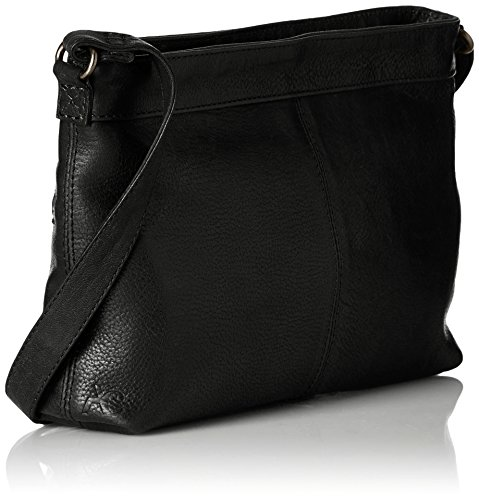Amsterdam Cowboys - Bag Penryn, Borsa a tracolla Donna Nero (Schwarz (Black 100))
