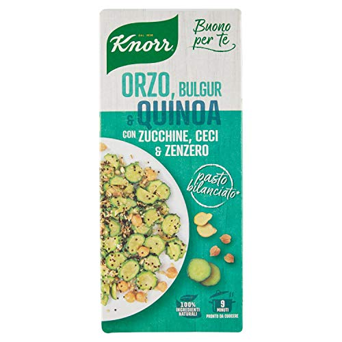 Knorr cuoci e gusta orzo bulgur e quinoa