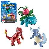 Best Figuras de acción Pokémon - TOMY Ivysaur, Charmeleon & Wartortle | 3-Pack Figuras Review