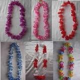 Hawaii Blüten, Verkleidung, Blau