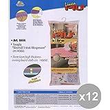 Set 12 StiroMOLL Telo Per Asse Da Stiro ALTO-Spessore 140X50 Cm. ART.0444 Bucato