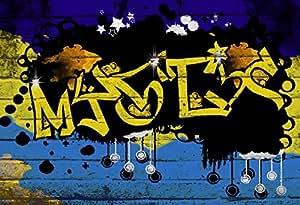Trend import graffiti 0021 moderne fototapete mural - Wandsticker graffiti ...