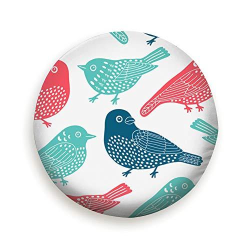 Ye Hua Bird Animals Universal Reserveradabdeckung Schwarz 14inch -