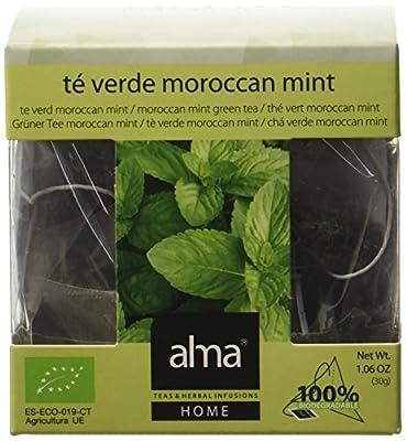 ALMA Moroccan Mint Thé Vert Bio 15 Pyramides 30 g