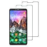 Widamin 2Pack, Kompatibel mit Xiaomi Mi Max 3 Panzerglas, Bildschirmschutzfolie, Hohe Auflösung Glas, [9H Härte], [Crystal Clearity], [Kratzfest], [No-Bubble] für Xiaomi Mi Max 3