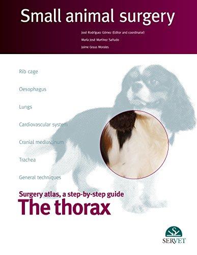 The thorax. Small animal surgery - Veterinary books - Editorial Servet