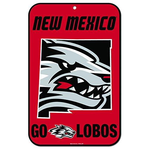 Mexico Street Sign (Wincraft Snack-Schale New Mexico Lobos Offiziellen NCAA 27,9x 43,2cm State Kunststoff Wand Sich, 11x 17von 575388)