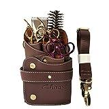 CHENG Sac de Ciseaux de barbier avec Taille épaule Ceinture Ciseaux Cas Porte pour Les Outils de Coiffure Sac de Transport