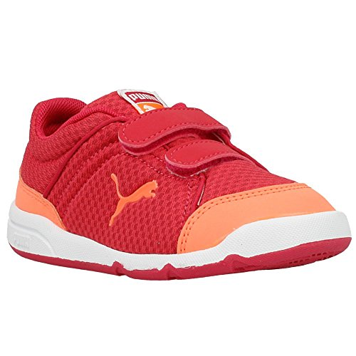 Puma - Stepfleex Kids - 18708504 - Couleur: Rouge-Orange - Pointure: 32.5