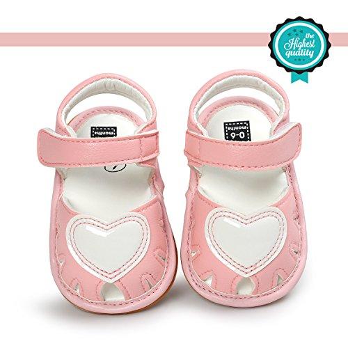 Zapatos de Bebé, Morbuy Zapatos Bebe Primeros Pasos Verano Recién nacido 0-18 Mes Niñas Bebé Casual...