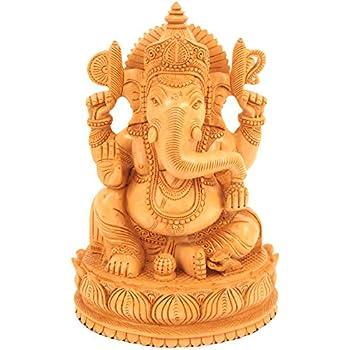 Amazon.de: Indische Gottheit Ganesha - Statue Messing