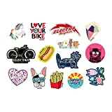 Electra Bicycle Electra Sticker Pack 2.0 Aufkleber Set Abziehbild Fahrrad Cruiser Bike Style Selbstklebend Decal, 571703