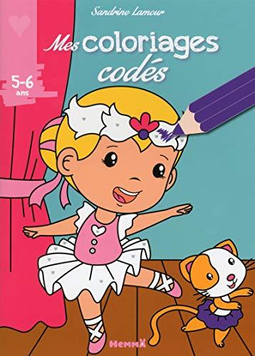 Mes coloriages codés (5-6 ans) (Ballerine) par
