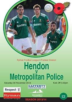 Hendon FC v Metropolitan Police FC Football eProgramme 2013 - 14 by [Publishing, HFCSA]