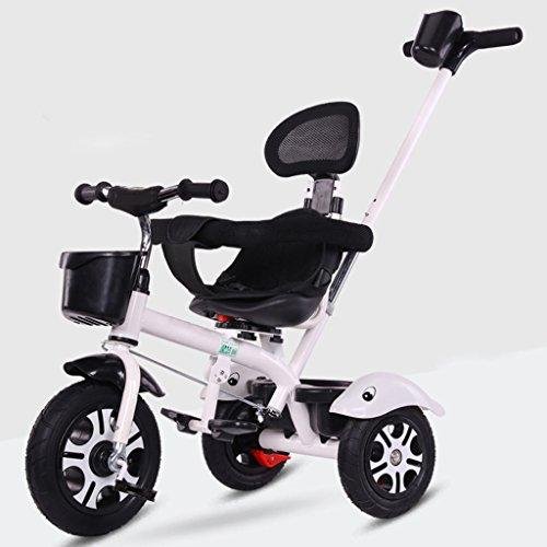 &Kinderwagen Kleinkind Trike Kleinkind Trike 1-3-6 2 Große Kinderwagen Titanium leeres Rad (Farbe : 4#)