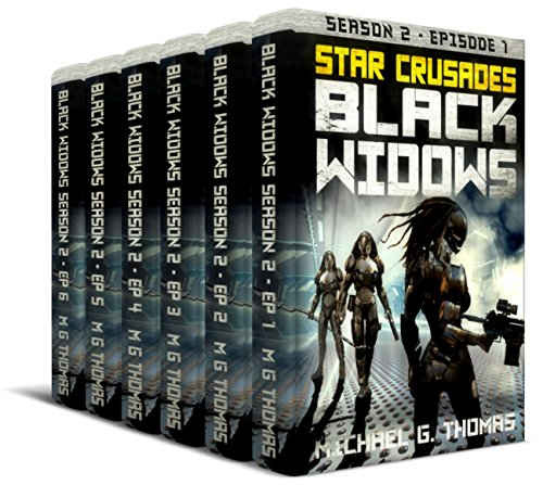 Star Crusades: Black Widows - Complete Second Season Box Set: Episodes 1-6