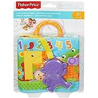 Fisher-Price Libro activity bebé, juguete colgante para bebé recién nacido ...