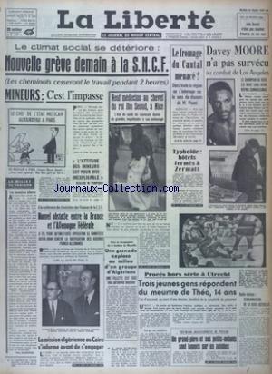 LIBERTE (LA) [No 5938] du 26/03/1963