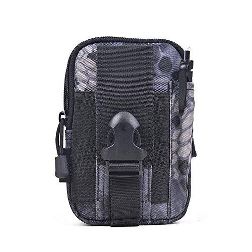 CHT Männerleinentaschen Freizeitsport Bergsteigen Telefon Taschen 17 * 11 * 6cm Farbe Optional blacklines