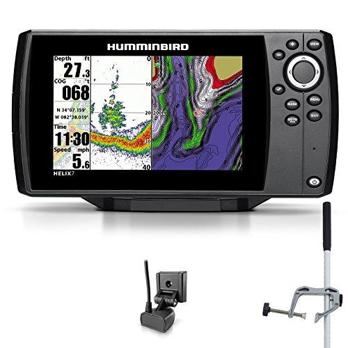 Humminbird Helix 7 Sonar GPS Echolot Seekartenplotter Combo Portabel Master