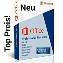 Microsoft Office Professional Plus 2013 Full Version - 1PC MULTILANGUAGE (Product OEM Key without CD)