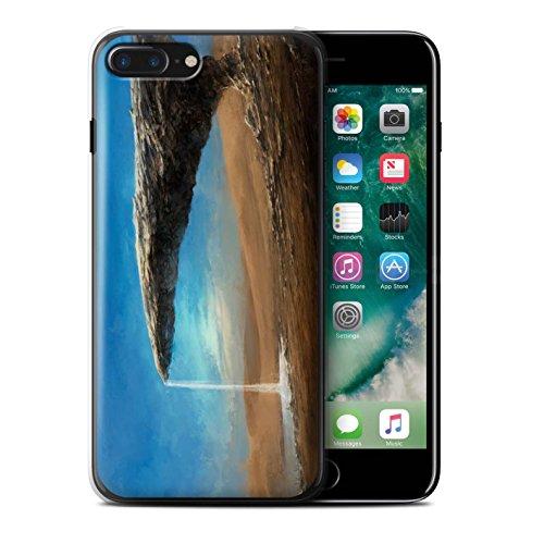 Offiziell Chris Cold Hülle / Case für Apple iPhone 7 Plus / Phönix/Raumzeit Muster / Galaktische Welt Kollektion Exoplanet