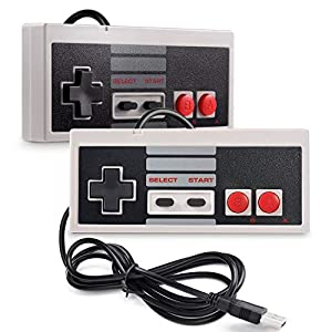 Trixes 2er Pack Controller – USB Retro Gaming Joypads
