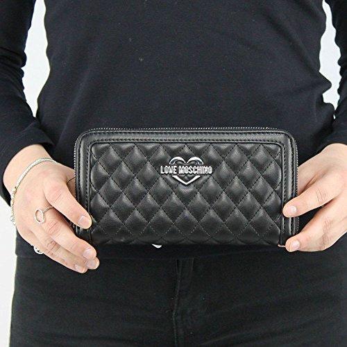 62c6fdc764 🔝 portafogli donna moschino love migliore più venduto collezione ...