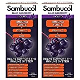 Sambucol Immuno Forte Black Elderberry Liquid, 2 x 120ml