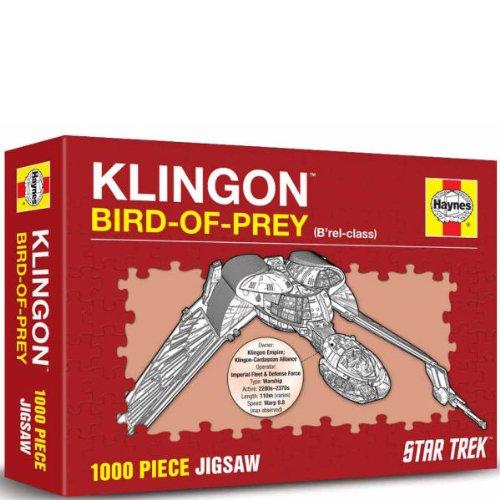 Haynes Puzzle Star Trek Bleie Kling on