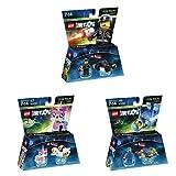 LEGO Dimensions - Fun Pack - Bad Cop + Fun Pack - Unikitty + Fun Pack - Benny