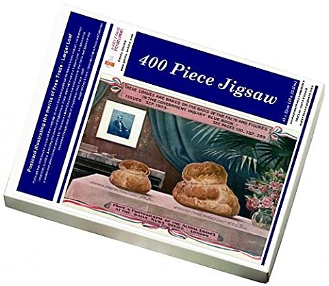 Photo Jigsaw Puzzle of Postcard illustrating the merits of Free