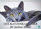 Der Katzenkalender für meinen Schatz (Tischkalender 2019 DIN A5 quer): Besinnliche und heitere Lebensweisheiten für Katzenliebhaber (Monatskalender, 14 Seiten ) (CALVENDO Tiere)