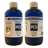 2 x Colloidal Silver 25ppm 250ml (Includes 1st Class P&P) [2 For 1 Deal]