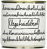Hanauer Bio Urgetreidebrot in der Dosen, 2er Pack (2 x 180 g)