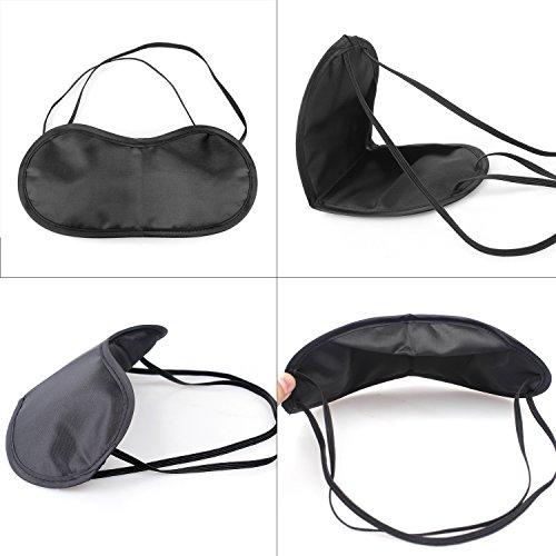 Hängematte Camping Hammock Single/Double Parachute, leicht und tragbar, mit extra Schlafaugenmaske Augenbinde Blindfold - 7
