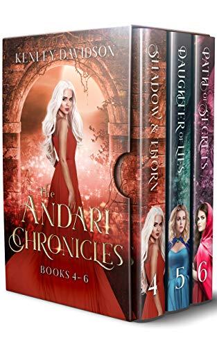 The Andari Chronicles Box Set 2: Three Romantic Fairy Tale Retellings (The Andari Chronicles Boxed Sets) (English Edition)