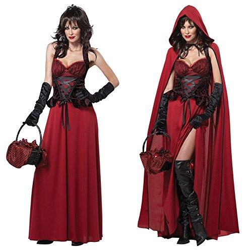 Gorgeous Halloween-Kostüme Europa SMG88933 neue Weihnachts kleiden Rotkäppchen Kostüme Vampir (Kostüm Vampir Kaninchen)