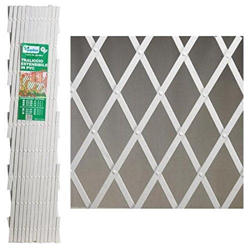 PAPILLON 8091530 Celosia PVC Blanca Extensible 2x1
