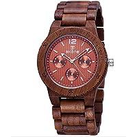 SKONE Brand–in legno caffè multifunzione orologi di lusso orologi fashion