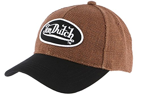 von-dutch-casquette-baseball-gaetan-marron-von-dutch-marron-taille-unique-homme-femme