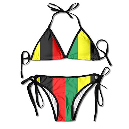 IGENERAL Rasta Jamaica Raggae Womens Sexy Thong Soft
