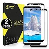 [2 Pack] Verre Trempé pour Samsung Galaxy S9 Plus, 3D Tactile Compatible et Ultra Claire, Dureté 9H et Facile à Installer, Anti-traces de Doigts et Sans Bulles Screen Protector pour Samsung Galaxy S9 Plus (Noir)